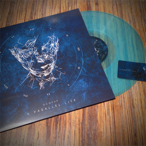 ocoeur - a parallel life - transparent blue lp