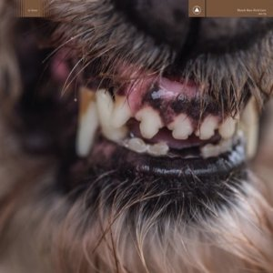 blanck mass - world eater - black/red marble lp