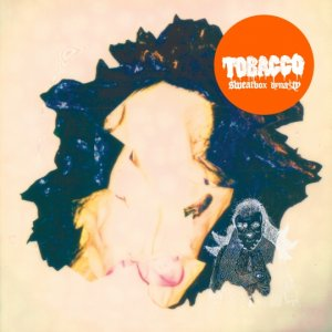 tobacco - sweatbox dynasty - transparent blue with beige lp