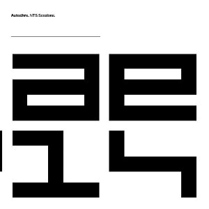 Autechre - NTS sessions - 8 x cd