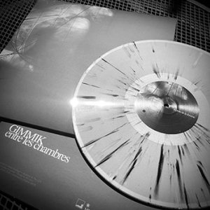 Gimmik - Entre Les Chambres - Silver w/black and white splatter LP