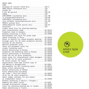 aphex twin - syro - 3 x LP