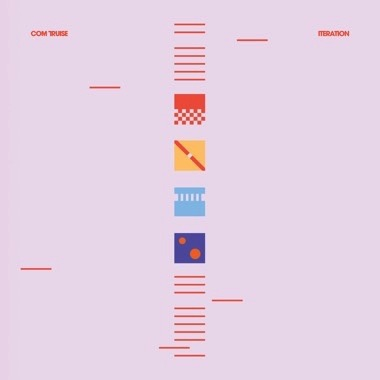com truise - iteration - 2 x blue / white lp