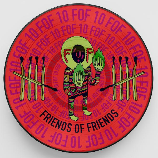 v/a - Friends of Friends at 10 - Picture Disc LP