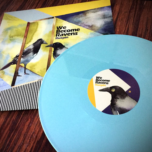 ruxpin - we become ravens - light blue lp