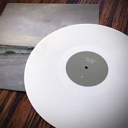last days - seafaring - white lp