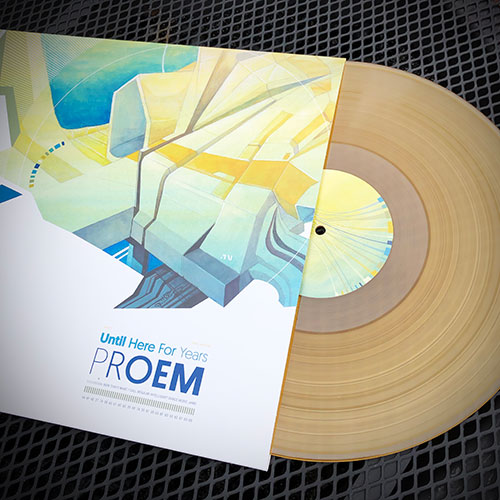 Proem - Until Here for Years - Transparent 180gram Burnt Yellow LP
