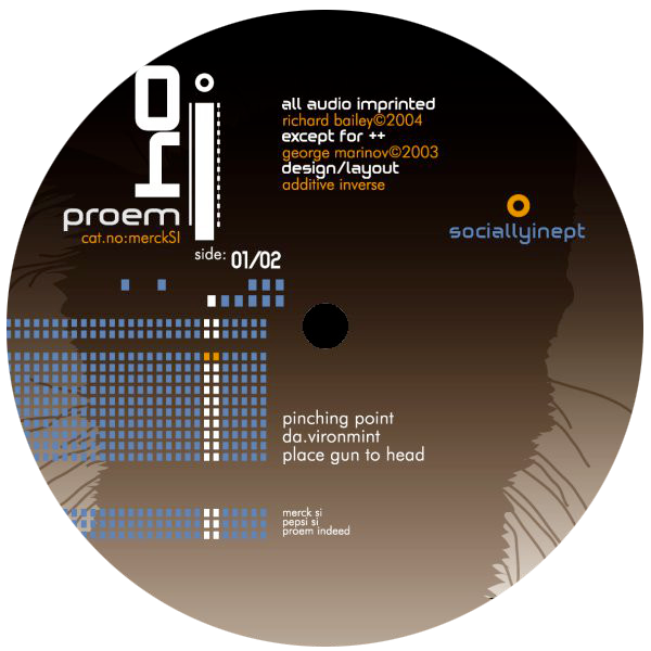 Proem - Socially Inept - 12""